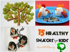 Healthy Snacks for Kids: 15 Fun Ideas! - ALLterNATIVElearning