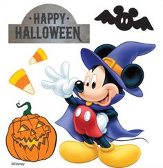 Halloween On Pinterest Mickey Mouse Minnie Mouse And
