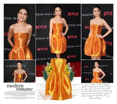 """""""Selena Gomez.   Red Carpet """"13 Reasons Why"""" TV Series Premiere."""" by sarahutcherson ❤ liked on Polyvore"""
