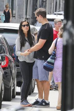 Aaron Rodgers and Olivia Munn Hanging Out in Montreal -- Green Bay Packers quarterback Aaron Rodgers got some quality time in with Olivia Munn this past weekend before training camp begins. Aren't they cute?
