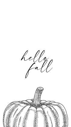 Pumpkin wallpaper for phones / Fall Phone wallpapers / Fall phone backgrounds / Fall Wallpapers for iPhone / Fall Wallpapers for Android / Fall Vibes / Fall Aesthetic