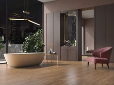 WOODLAND Collection | Cotto d'Este Flooring and Cladding Networking Companies, Teak Wood, Types Of Wood, Cladding, Wall Tiles, Woodland, Living Spaces, Bathtub, Tropical