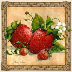 """Strawberries"" by Janet Stever"