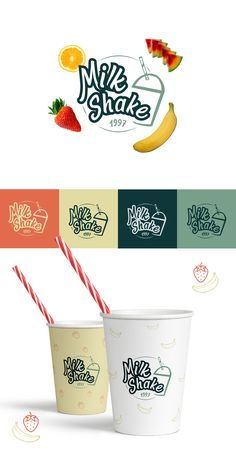 drink logo Showcase and discover the latest work from top online portfolios by creative professionals across industries. drink logo Showcase and discover the latest work from top online portfolios by creative professionals across industries. Food Poster Design, Food Truck Design, Book Design Layout, Logo Design, Menu Design, Branding Design, Design Ideas, Smoothie Bar, Drinks Logo