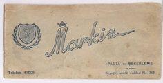 Markiz pastanesi, logo.