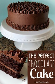 The BEST Chocolate Cake - Yummy