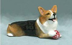 Pembroke Welsh Corgi Figurine Collectible by RonHevener on Etsy