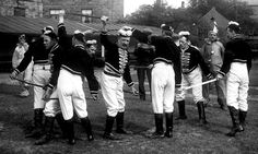 A cut above ... Handsworth Longsword team, circa 1910. Photograph: English Folk Dance and Song Society