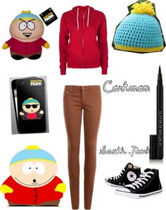"""""""South Park : Cartman"""" by toxicmolly727 ❤ liked on Polyvore"""