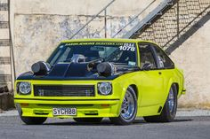 Street-legal in New Zealand looks a bit like this hard-as-nails twin-turbo Holden Torana hatch Australian Muscle Cars, Aussie Muscle Cars, American Muscle Cars, Holden Muscle Cars, Sports Car Racing, Road Racing, Toyota Land Cruiser 100, Holden Torana, Big Girl Toys