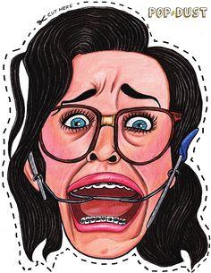 Kathy Beth Terry Printable Mask!