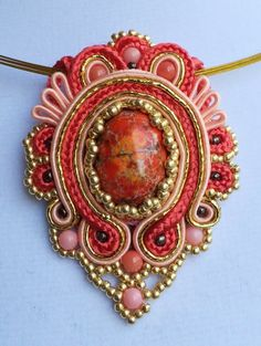 Hand Embroidered Soutache Jewelry | Suzanne Suber | LinkedIn