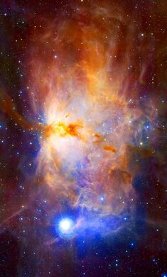 #FlameNebula Name: #FlameNebula, #NGC2024 Type: • Milky Way : Nebula : Type : Star Formation • X - Nebulae Distance: 1500 light years Constellation: Orion