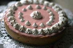 Tarta de guayaba rosa  http://pastelesmisticos.blogspot.com/