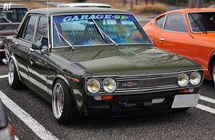 日産 510 ブルーバード // 名古屋  Nissan 510 Bluebird // at Nagoya