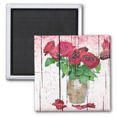 Roses Refrigerator Magnets #Rose #Flower #Magnet