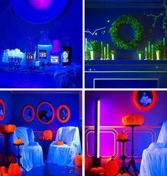 Atemberaubende Neon Halloween Dekor Ideen 3