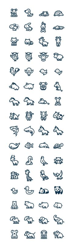 Vectorial Animals on Behance