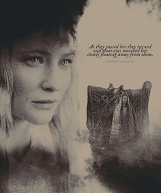 Galadriel - she is one of my very favorite characters of all time.