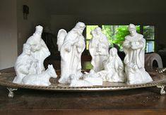 Christmas Nativity, Garden Sculpture, Outdoor Decor, Nativity