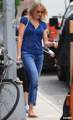 Cameron Diaz Style on Pinterest