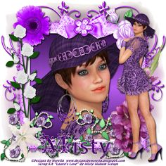 Aeval's Art: Laura's Love by Misty Mayhem Scraps for Berry Applicious CT