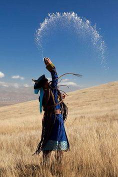 Moğolistan'dan... Fotoğrafı gönderen: Cemal Yıldırım