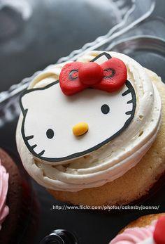 #cupcake #hellokitty