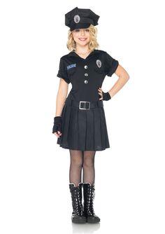 girls+cop+costumes+kids | Playtime Police Child Girl Costume