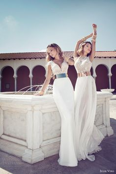 FeminineX | Julie Vino Wedding Dresses – 2014 Collection (Best Wedding and Engagement Rings at www.brilliance.com)