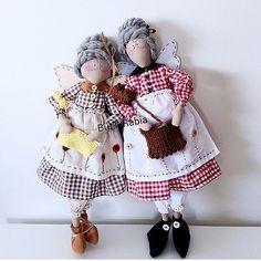 By @butikrabia ! #patchwork #costura #sewing #tilda #tildadoll #boneca #muñeca #vovó #grandmother #artesanal #artesanato #handmade #hechoama...