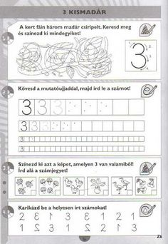 Kispilóta- Számírka - Kiss Virág - Picasa Webalbumok Simple Math, Paper Trail, Writing Numbers, Preschool Math, Math For Kids, Creative Teaching, Speech Therapy, Kids And Parenting, Worksheets