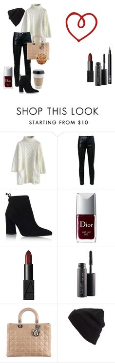 """""""red little muffin style"""" by mariavittoria-7 ❤ liked on Polyvore featuring OUTRAGE, Chicwish, CITYSHOP, Stuart Weitzman, Christian Dior, NARS Cosmetics, MAC Cosmetics and BP."""