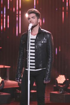 Adam Lambert with 'Ghost Town' at The Late Late Show with James Corden; Thursday, July 16, 2015, on The CBS Television Network