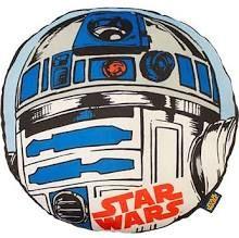 Star Wars Boys Plush Character Cushion - R2D2