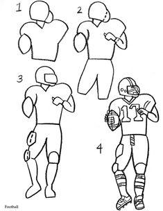 Drawing - Sports - Football