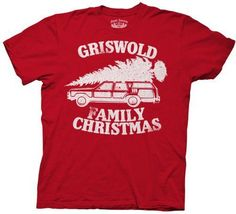 Griswold Family Christmas Adult T-shirt Tee
