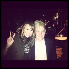 Keltie and Patrick Stump. See more here: http://insdr.co/ILG5Zi