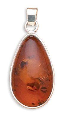 Oval Baltic Amber Pendant Baltic Amber Jewelry