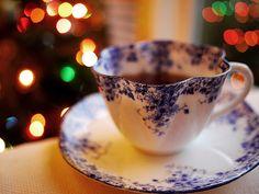 cup 0f Tea in vinTage cup