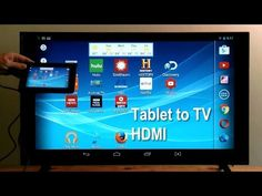 HDMI to TV - How to connect tablet to TV using HDMI - Android to TV - Step by Step - http://techlivetoday.com/android-tablet-reviews/hdmi-to-tv-how-to-connect-tablet-to-tv-using-hdmi-android-to-tv-step-by-step/