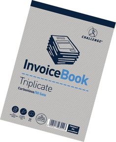 Challenge triplicate #invoice #business #adminstration record book (pack of 5),  View more on the LINK: http://www.zeppy.io/product/gb/2/192075378095/