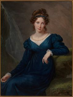 Suffering from lung disease, Madame Potemkina (1797–1869), accompanied by her husband, left Russia to seek medical treatment abroad. They visited England, Switzerland, and Italy, and in Paris she posed for Vigée Le Brun 1820