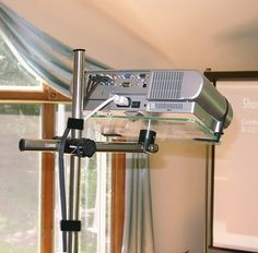 Projector Stand – AirDesk Laptop Desks and Tablet Stands Home Cinema Room, Home Theater Setup, Best Home Theater, Home Theater Speakers, Home Theater Projectors, Home Theater Seating, Theatre, Projector Stand, Projector Mount