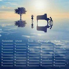 Plan Lekcji - Anime - Shigatsu wa mimi no uso School Timetable, Your Lie In April, You Lied, Bujo, Random Things, Back To School, Weather, Organization, Japan