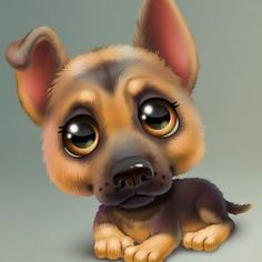 Dogs Cartoon Illustration Sweets 40 Ideas For 2019 Cute Baby Animals, Animals And Pets, Funny Animals, Draw Animals, Cute Animal Drawings, Cute Drawings, Cartoon Dog, Cute Cartoon, Cute Puppies