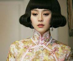 "actress Fan Bing Bing in ""Last night of Madam Chin"" (set in Shanghai 1930s-1940s)"