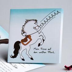 Prinz Charming Auf Weg Comic Schoene Einladungskarte Zur Hochzeit P OPB047  Watercolor Hochzeit Tischdeko Inspiration Cobalt
