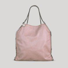 Shaggydeer Big Tote Falabella by Stella McCartney (leather-free/vegan friendly) -- comes in five colors, including bright magenta!