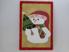 carton mousse- boneco de neve